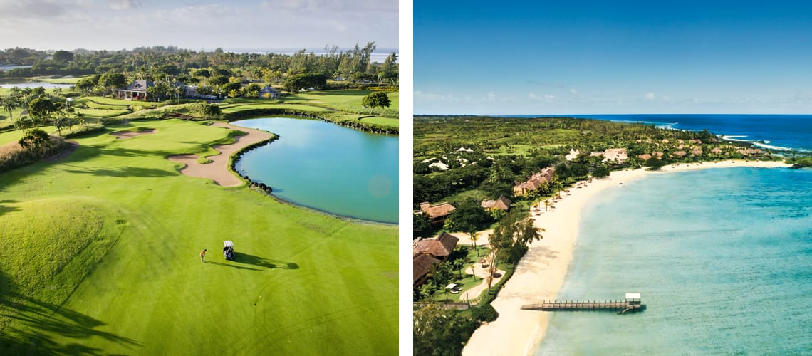 Heritage Golf Club and Shanti Maurice in Mauritius