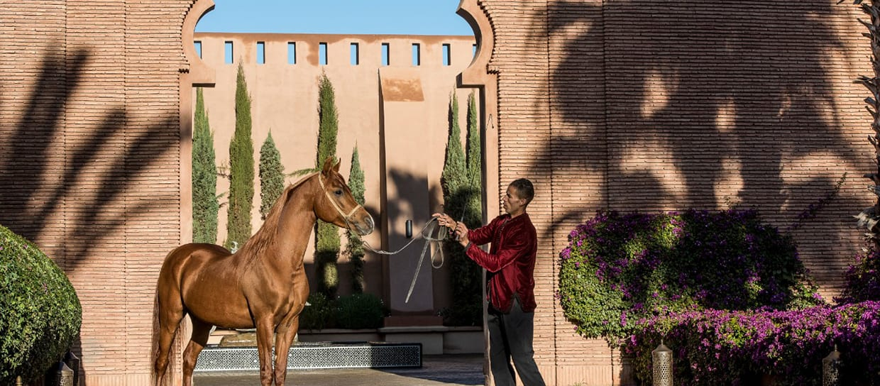 Selman Marrakech main entrance