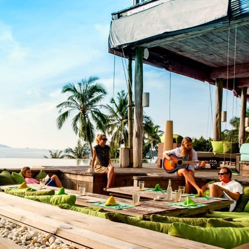 The superb Soneva Kiri hotel in Thailand