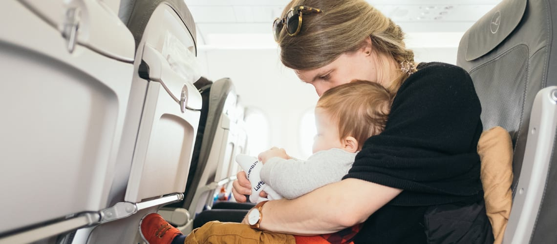 Little Guest Hotels Collection Mother Toddler Plane