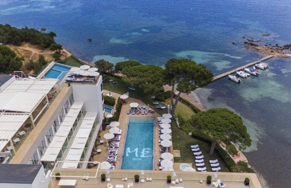 Little Guest Hotels Collection ME Ibiza Overview of the hotel