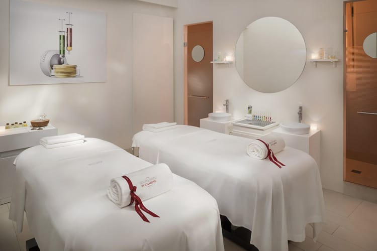 Spa at Gran Melia Rome Villa Agrippina in Italy