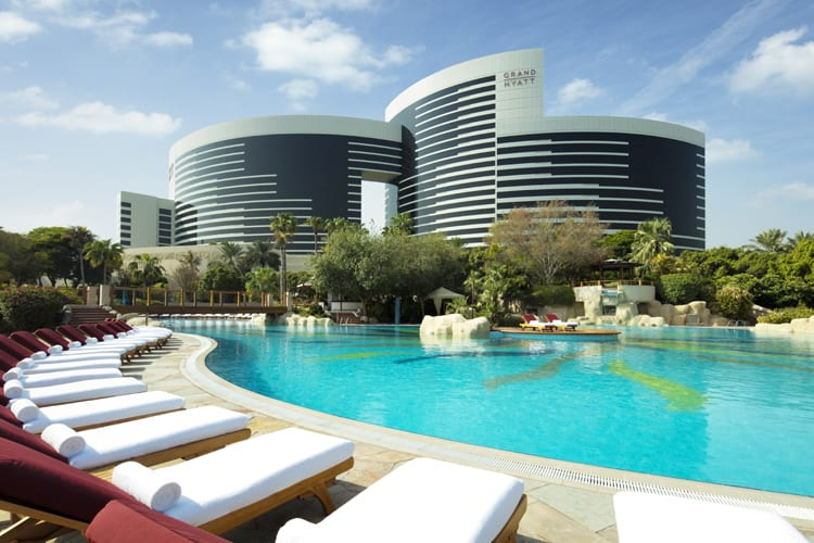 Grand-Hyatt-Dubai-Outdoor-Poolside