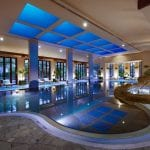 Grand Hyatt Dubai pools at the spa