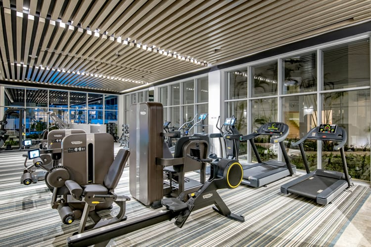 Fitness room at The Grand Reserve At Paradisus Palma Real in Punta Cana