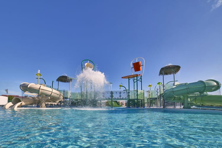Blast! aquapark at The Grand Reserve At Paradisus Palma Real in Punta Cana