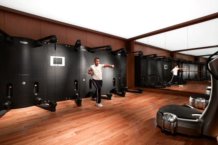 Grand Hyatt Dubai Fitness Room