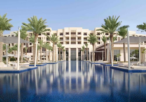 Pool view Park Hyatt Abu Dhabi Hotels & Villas *****