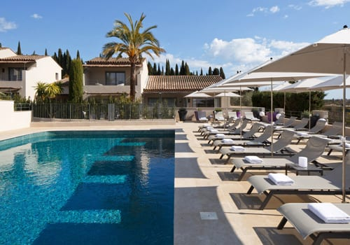 La Bastide de Biot outdoor swimming pool