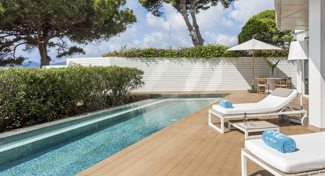 Little Guest Hotels Collection ME Ibiza Room Private Swimming Pool Terrace