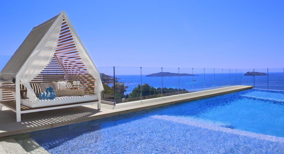 Little Guest Hotels Collection ME Ibiza Swimming Pool Blue Sea