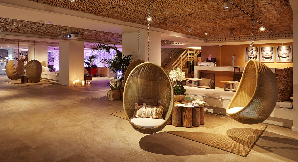 Little Guest Hotels Collection ME Ibiza Wood Lobby