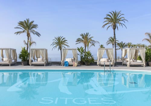 ME Sitges Swimming pool View