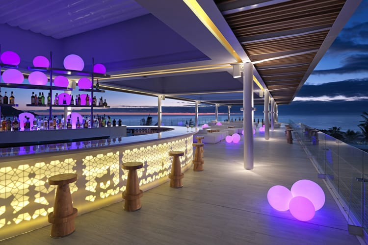 Gabi bar at Paradisus Los Cabos Resort in Mexico
