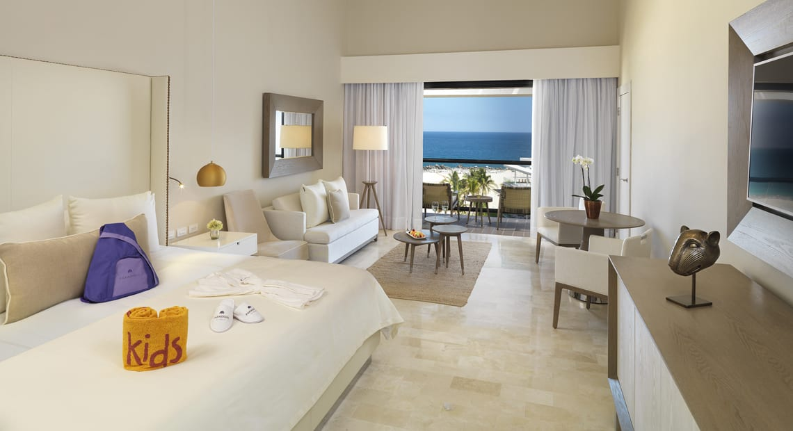 Family suite at Paradisus Los Cabos Resort in Mexico
