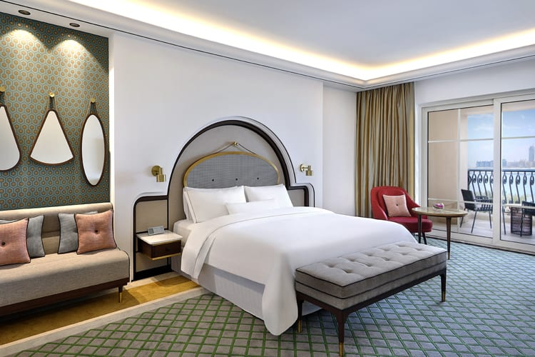 Westin Dubai King size bed