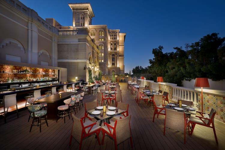 Westin Dubai Night Terrace