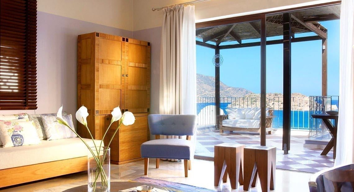 Domes of Elounda family suite