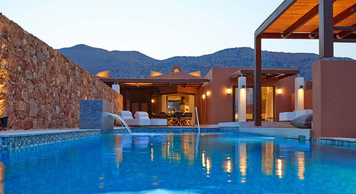 Villa with private pool Domes of Elounda