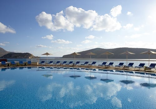 Domes of Elounda Infinity pool