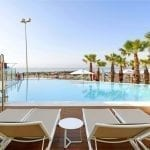 Palladium Hotel Costa del Sol Pool with deck chairs