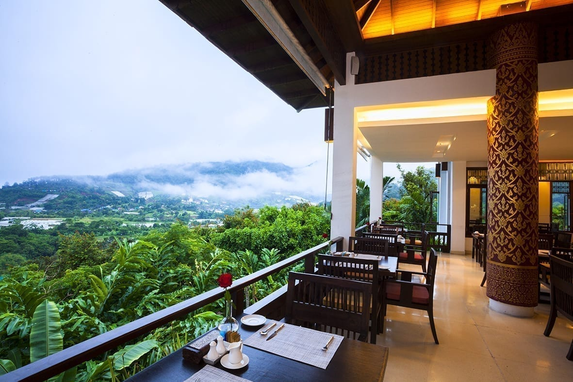 Panviman Resort Koh Phangan Restaurant with beautiful view
