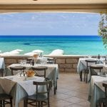 Resort & Spa Le Dune Restaurant with a view