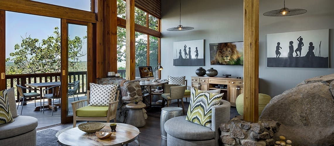 Family suite at the Ulusaba
