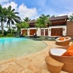 Private pool and terrace at Casa de Campo