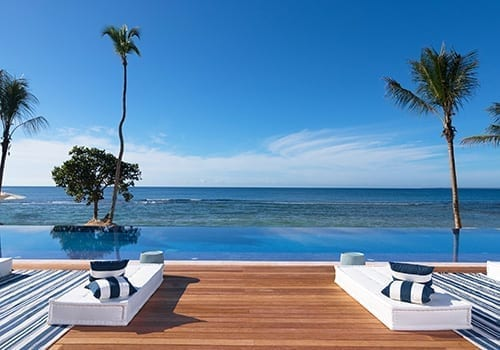POOL OVERLAPPING SEA - LITTLE GUEST COLLECTION - CASA DE CAMPO