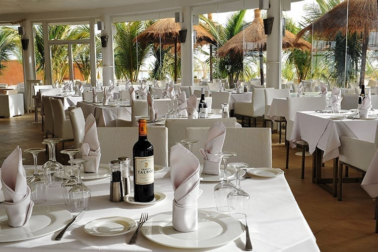 Le Lamantin Beach Resort & Spa Beach Restaurant