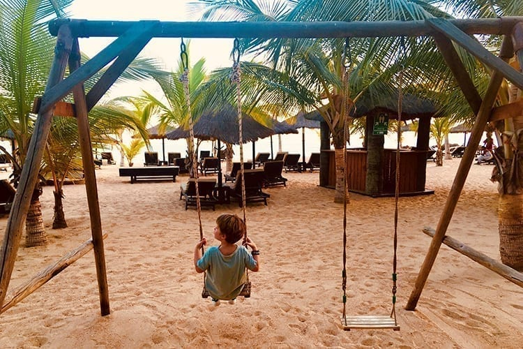 Le Lamantin Little Guest Swing Beach