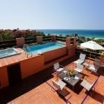 Royal Hideaway Sancti Petri Terrace with a private swimming pool and jacuzzi
