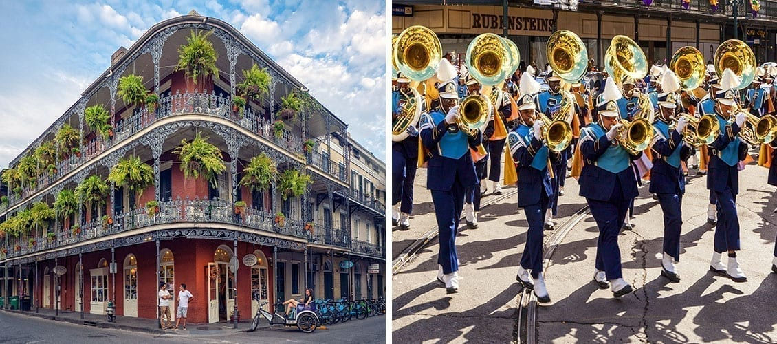 The most beautiful carnivals New Orleans US