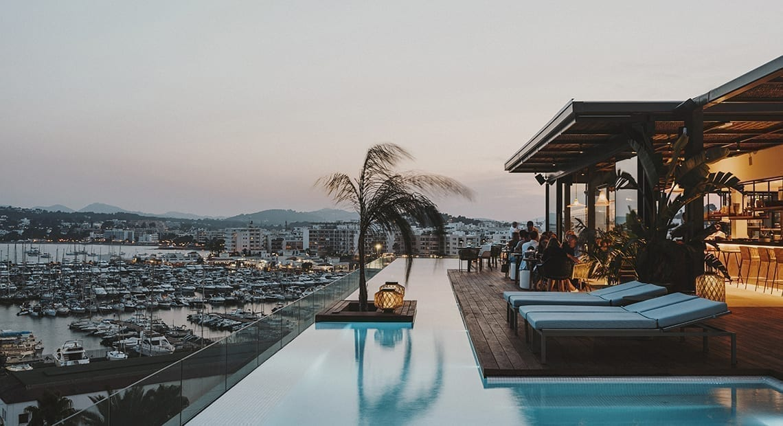 Little Guest Hotels Collection Aguas de Ibiza infinity pool