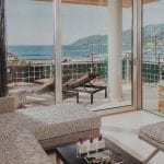 Aguas de Ibiza Grand Luxe Hotel suite with a view