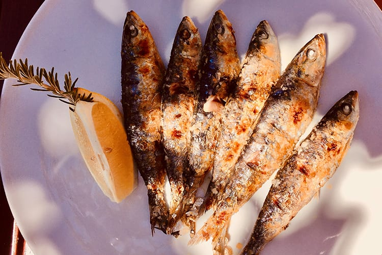 Pine Cliff Resort grilled fish