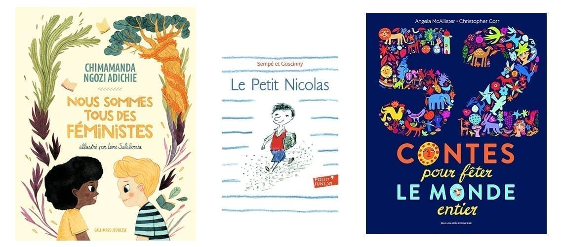 Selection of books for kids from 6 to 9 years old