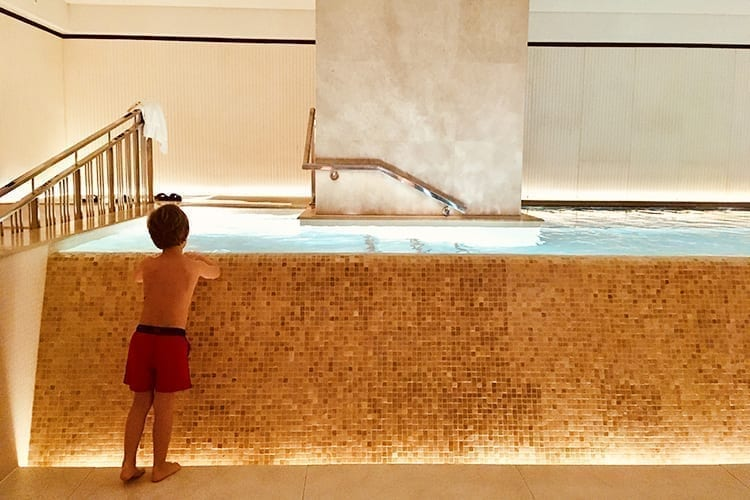 Little Guest Lanesborough Spa Kid