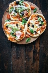 Small pizzas Little Guest kids recipe