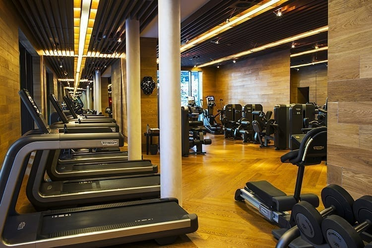 The Chedi Andermatt - fitness room