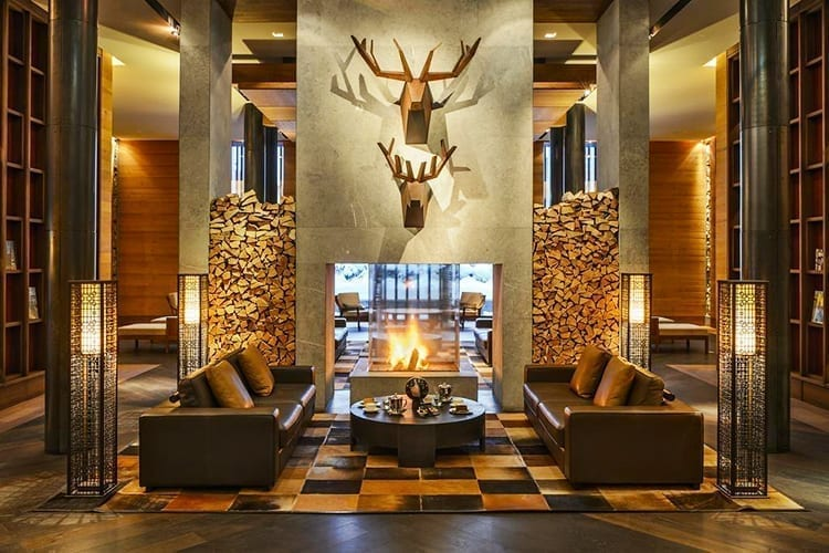 The Chedi Andermatt - hall