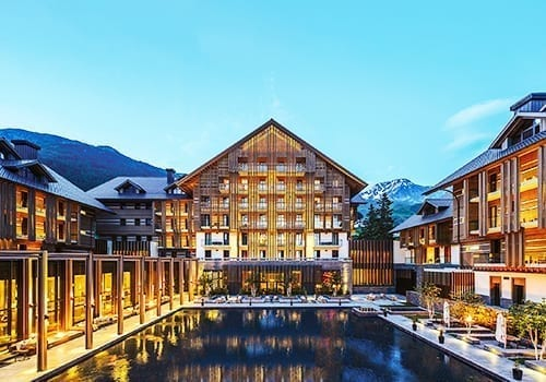 The Chedi Andermatt - night