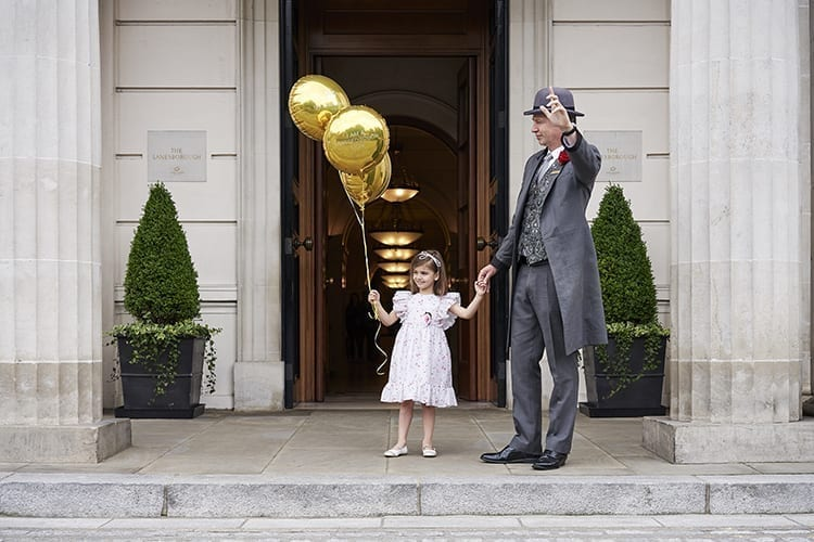 The Lanesborough Baloon Girl