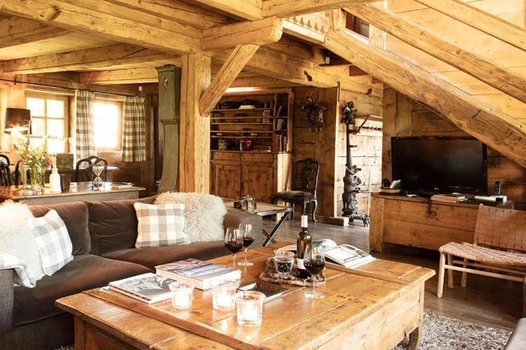 Le Chalet Chatel kitchen