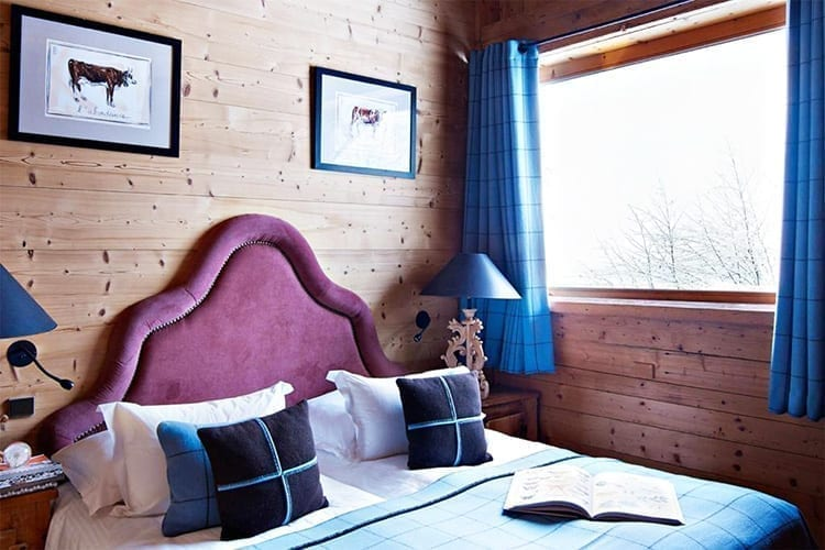 Le Chalet Chatel bedroom