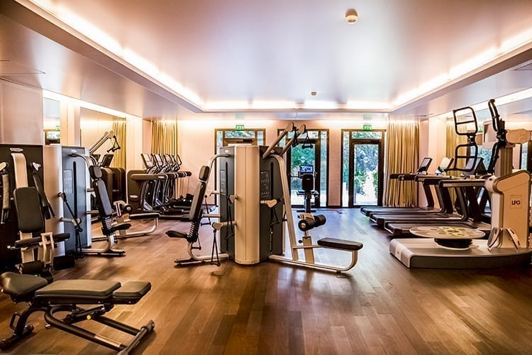 Villas Terre Blanche - fitness room