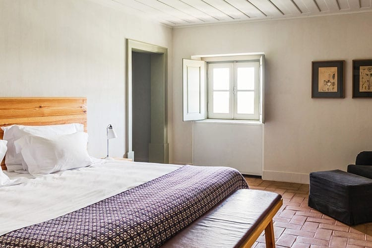 Bedroom at Cottages Sao Lorenco do Barrocal