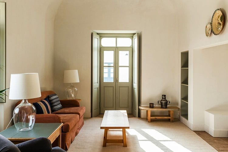 The living room of one of the Cottages Sao Lorenco do Barrocal