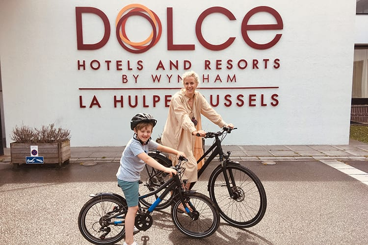 Dolce La Hulpe Brussels - Mother Kid Bike